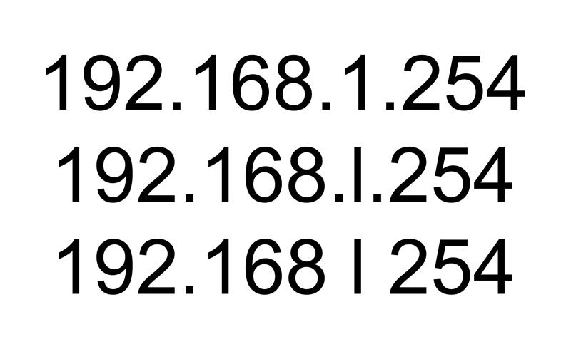 192.168 l 254